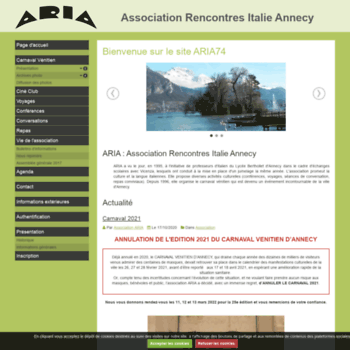 club rencontres annecy