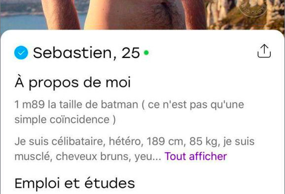 exemple profil homme rencontre chat ado site de rencontre
